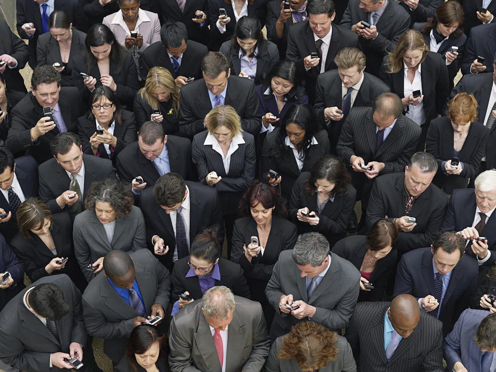 Bent u verslaafd aan uw smartphone, doe de test?