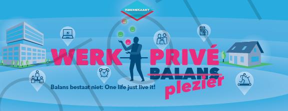 De koerskaart werk privé balans