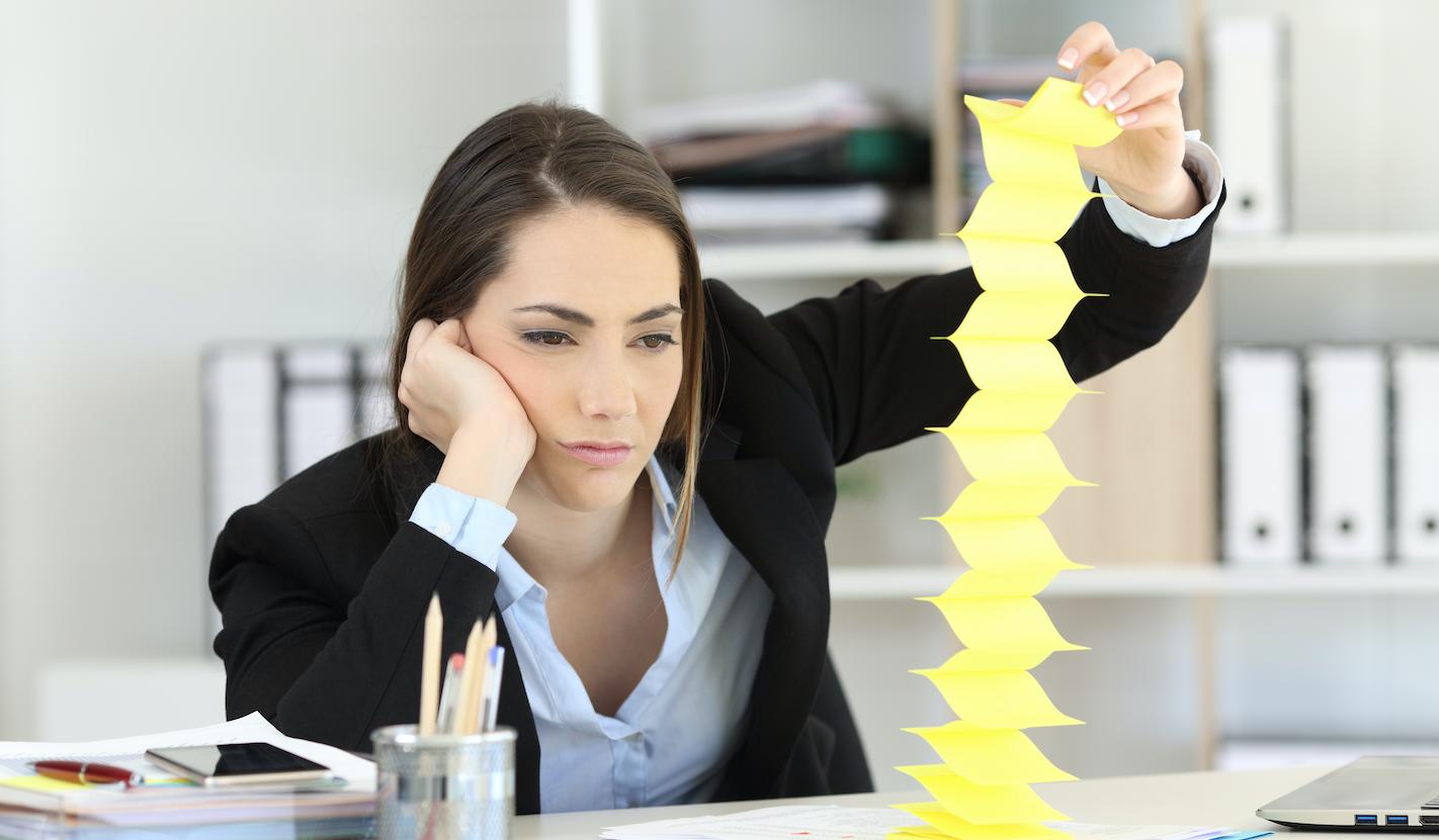 Verveeld raken op je werk, ondanks of door de mega werkdruk. Kan dat?