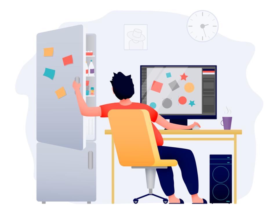 Interactieve etraining: Hoe houd je focus thuis achter je computer?