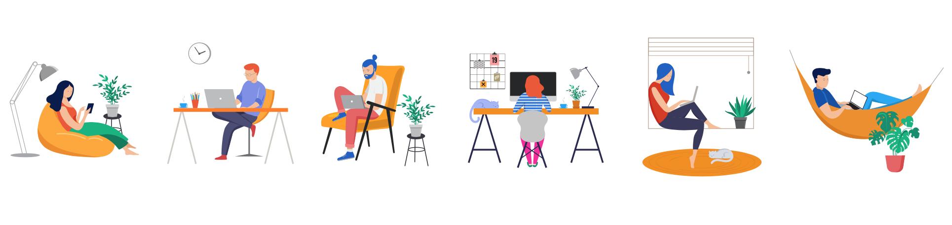 Werken vanuit huis is efficiënter